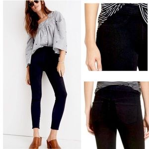 Madewell The Anywhere Jean Black Pull On Style 27